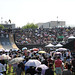 May 30, 2010 - Shanghai, China - Jiangwan Stadium, Crowds watch the BMX Mini Mega Finals