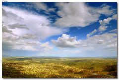 Vista sobre Monfragüe / View of Monfragüe (A.González) Tags: blue sky españa cloud azul angel clouds landscape nationalpark spain nikon paisaje cielo nubes cáceres nube monfragüe 18105 extremadura caceres parquenacional cokin d90 angelgonzalez platinumheartaward agiz3
