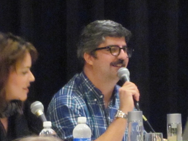 Dana Snyder from Aqua Teen Hunger Force at Nuts on the Road: The Quiz Show at Dragon*Con 2010
