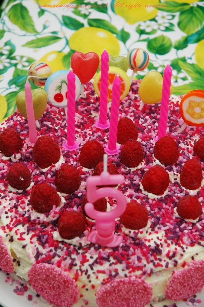Torta di compleanno Bosco di Lecca Lecca