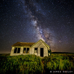 Light It Up (James Neeley) Tags: lightpainting idaho schoolhouse swanvalley lowlightphotography jamesneeley flickr16