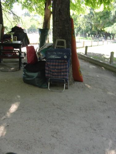 cosas de gente que vive en el parque