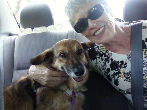 Mom and Maggie!