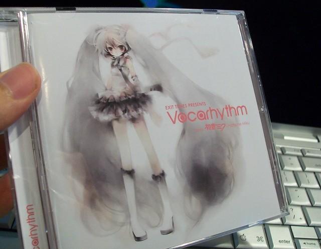 Miku Hatsune Vocarhythm