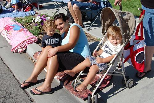 Clark, Auntie Laura, and Harry