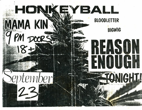 Honkey Ball - Mama Kin - September 23rd