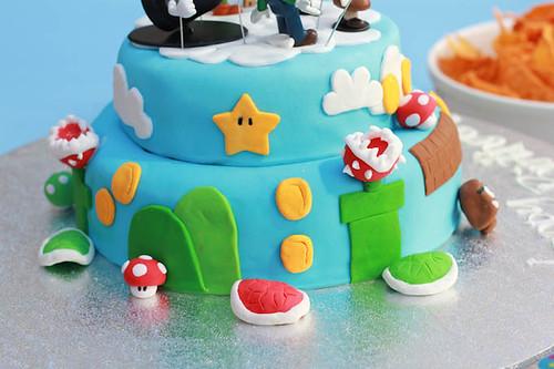 Mario Cake-7