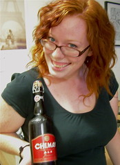 Elizabeth presents Chimay