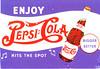Vintage Re-print Pepsi Ad Postcard (crayolamom) Tags: vintage advertising postcard forum ad postcrossing pop pepsi reprint