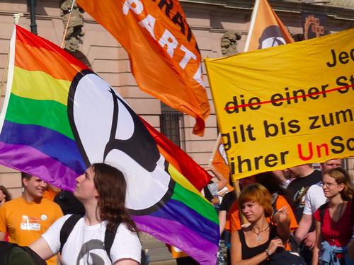 Freiheit statt Angst demo 2010 in Berlin
