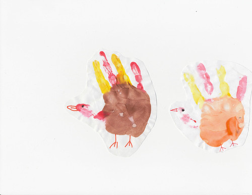 Hand Turkeys 2008