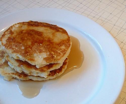 Cornmeal Pancakes 2