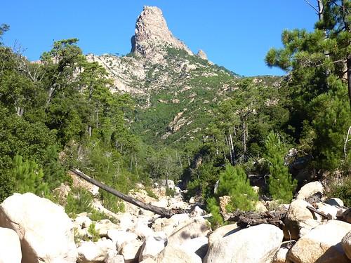 Début de la montée du ravin : Punta Bunifazinca (Punta di Bonifacio)