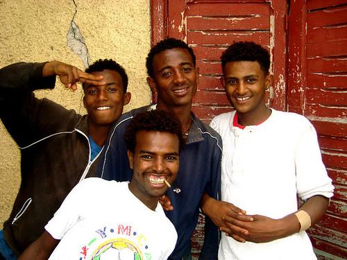 a few of the street boys