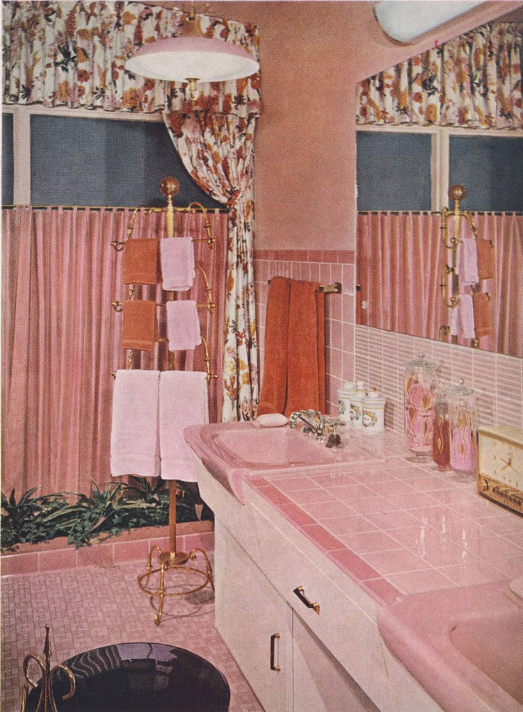 The world 39 s best photos by elevator lady flickr hive mind for Pink and orange bathroom ideas