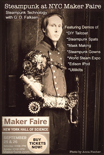 World Maker Faire New York Steampunk