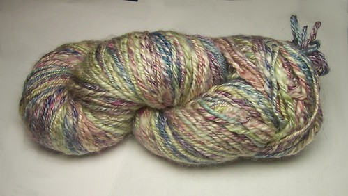 Chain-plied acrylic