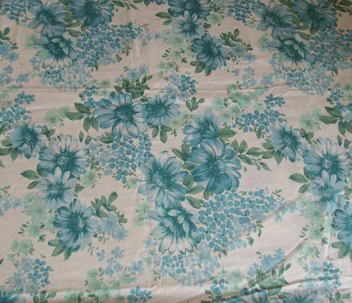 Vintage Floral Sheet