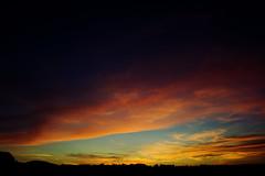 Ilunabarra Azkainetik 2/3 (Garuna bor-bor) Tags: sky clouds digital contraluz geotagged xpro procesocruzado dusk ciel cielo crossprocessing nubes zb nuages crpuscule ubuntu euskalherria basquecountry contrejour backlighting anochecer coucherdesoleil 2010 paysbasque pasvasco ilunabar zeru lapurdi hodeiak iluntze ascain tombedelanuit ilunsenti azkaine labourd arrastiri dveloppementcrois kontrargi geolokalizatua geokokatua prozesugurutzatua  nattywallpaper