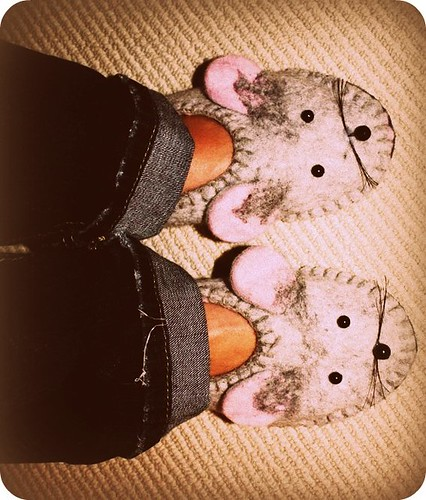 mousey slippers