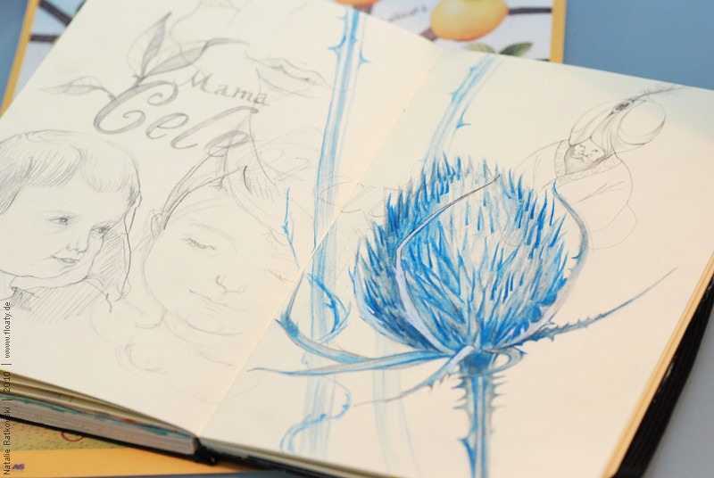 Sketchbook, September 2010