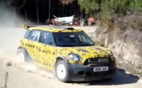MINI WRC action