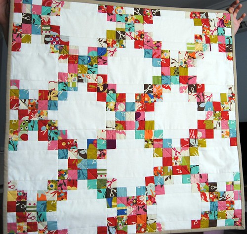 Finished UHG swap small quilt