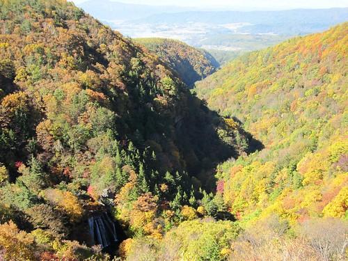 王滝と横谷峡 2009年10月21日 by Poran111