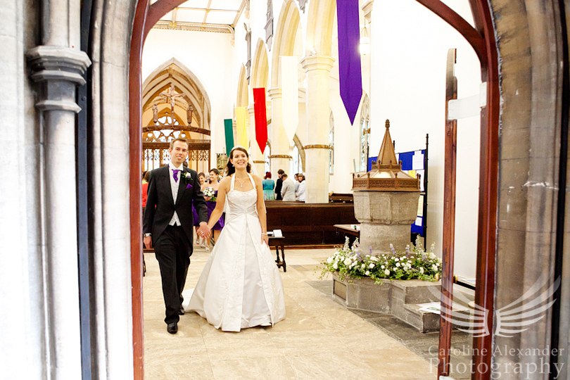 Minchinhampton Church Wedding 7
