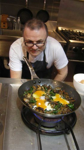 Mushroom and Eggs with Guy