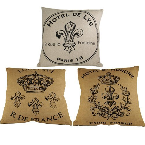 French-Square-Pillows
