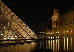 paris by night (leuntje) Tags: paris france louvre frankrijk parijs musedulouvre pyramidedulouvre louvrepyramid