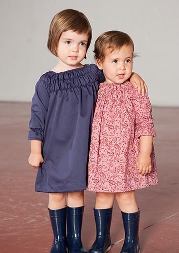 Moda infantil a medida ropa para nios El vestido de Olivia
