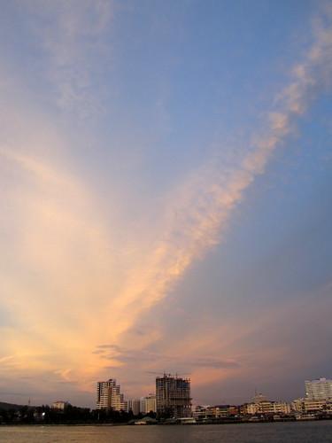 sriracha sunset