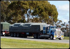 Kenworth T900 Road Train (quarterdeck888) Tags: trucks roadtrain kenworth tarps t900 truckphotos jerilderietruckphotos jerilderietrucks
