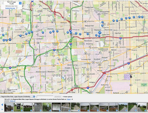 Regional Bike Ride Chicago: Pics Along a Route