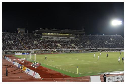 満員の客席@ガンバ大阪 VS セレッソ大阪