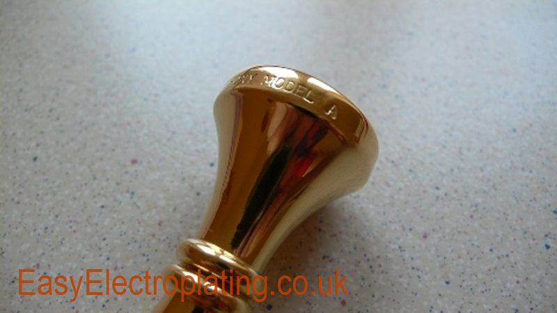 Gold Plated Mouthpiece 2