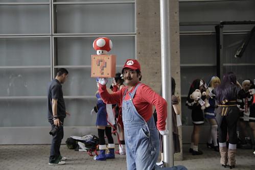 Mario at Tokyo Game Show 2010