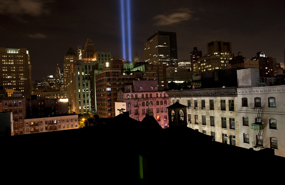 'Tribute in Light' 9/11/2010
