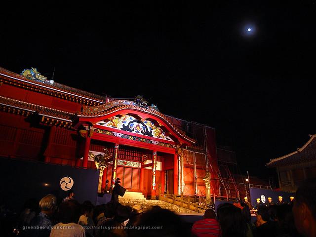 首里城 中秋の宴〜組踊が始まったところ