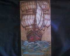 (AEGEOTISSA) Tags: wood art  pyrography areli