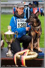 SV-BSP-2010-Meppen Sieger: Claudia & Dylan haben gewonnen! DEUTSCHER SCHÄFERHUND Bundessieger 2010!