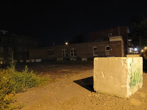 Les Fantômes des terrains vagues - Ville de Québec - Coin 3e Avenue et 3e Rue