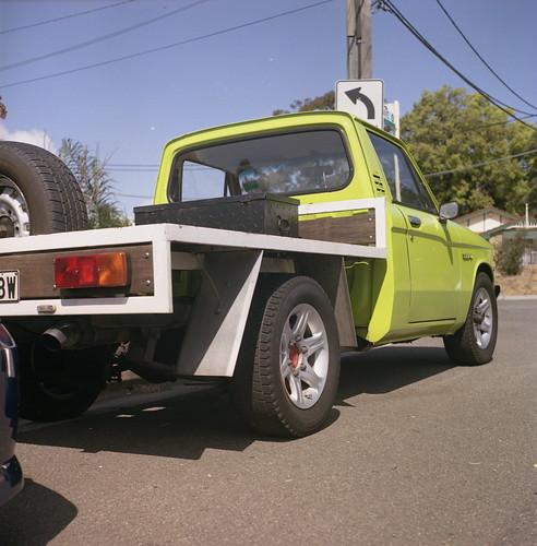Chevrolet LUV Yashica Mat 124G Kodak Portra 160NC