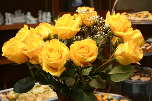 Flowers from Tea Party