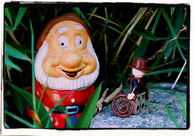 Indiana Jones and the Disturbing Garden Gnome