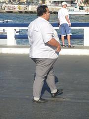 Dicker Bauch (ThomasKohler) Tags: man island fat dick kreta insel greece crete mann griechenland fett nikolaos agios wanst ägäis mittelmeerinsel άγιοσ νικόλαοσ