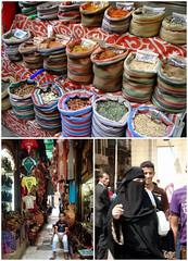 jan el-jalili      (polameji) Tags: women market muslim egypt hijab mercado cairo egipto bazaar niqab zouk zoco especias coloresvivos spyces janeljalili polameji
