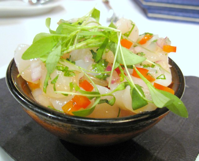 Qualicum Bay Scallop Ceviche